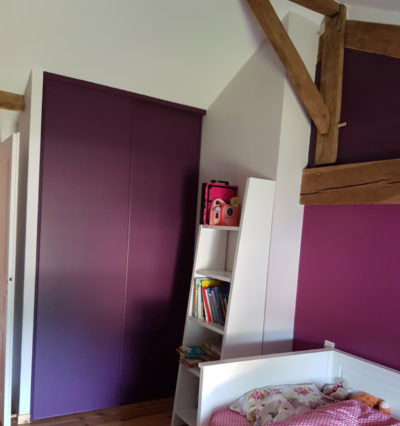 Déco peinture chambre enfant à Sèvremont