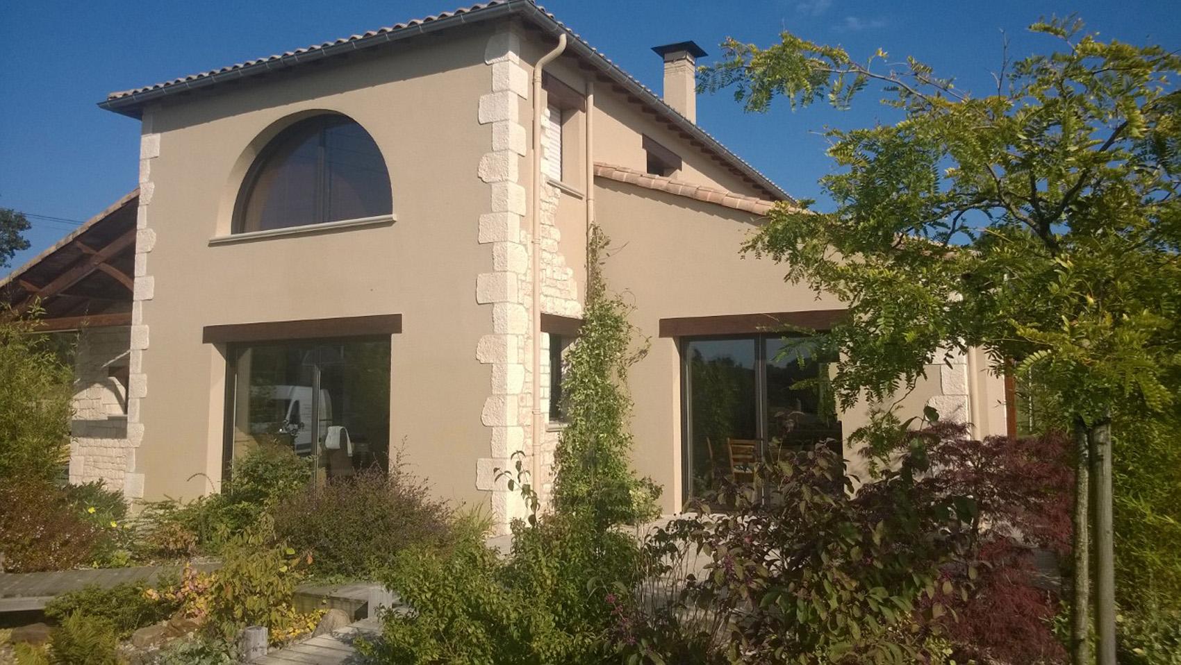 Enduit RPE minéral façade (85) Vendée