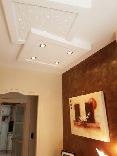Entrée et plafond lumineux - La Flocellière