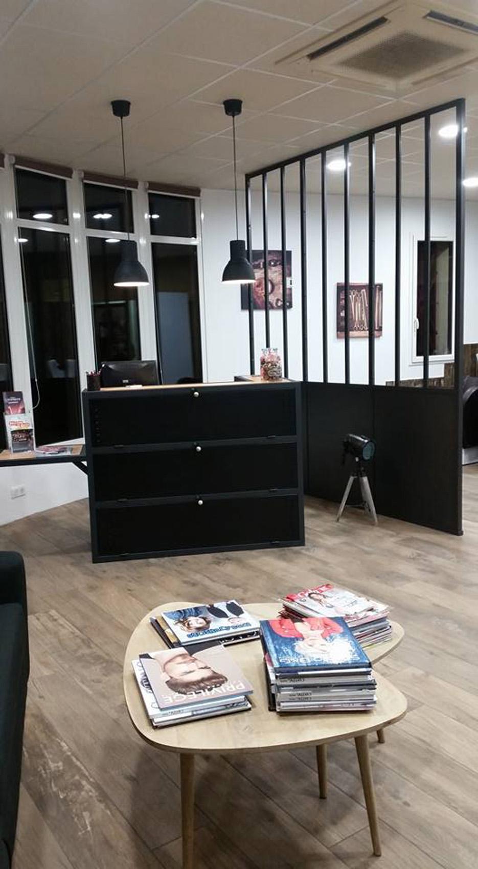Peinture Et Décoration Salon De Coiffure Fb Déco Styl