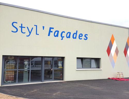 Peinture façade entreprise