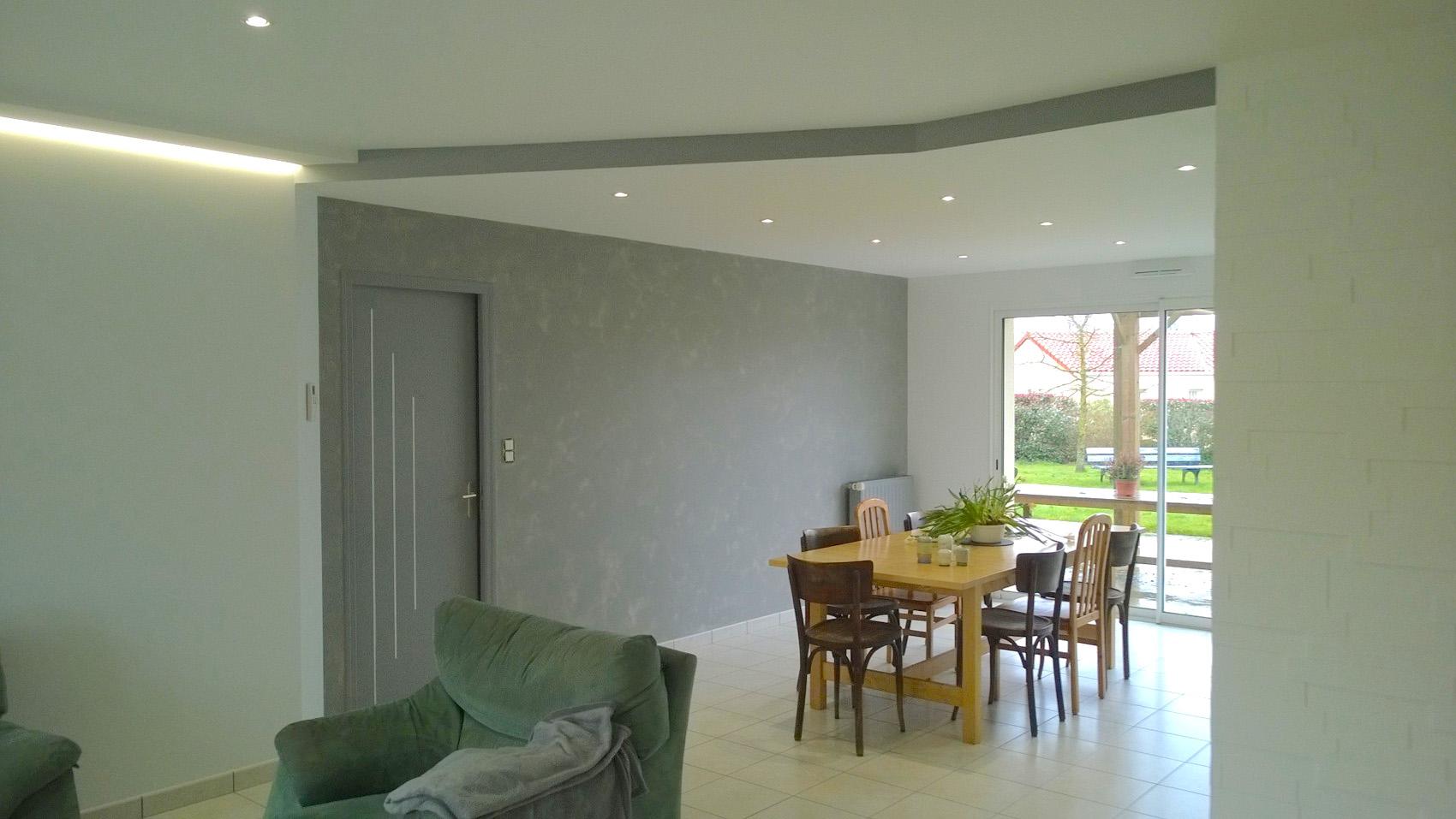 Peinture faux-plafond