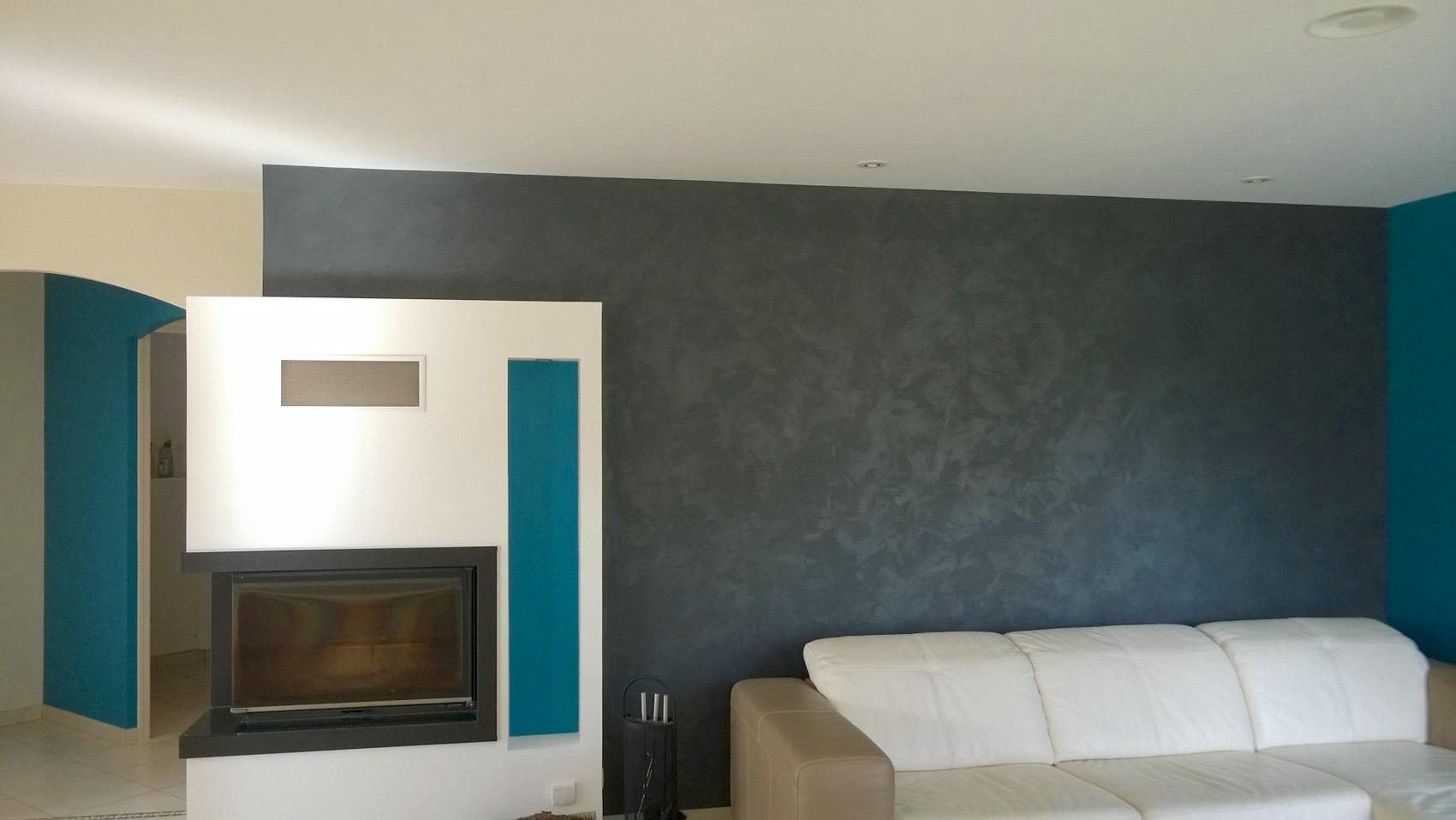 Peinture salon séjour à Sèvremont