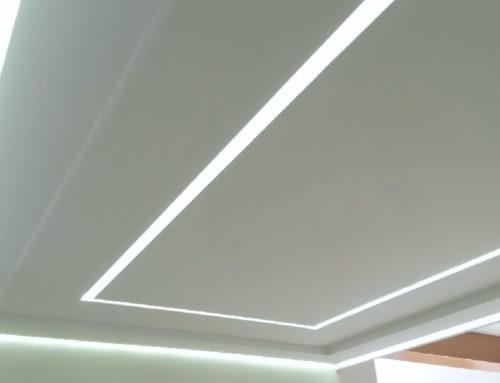 Plafond lumineux à Mouilleron en Pareds