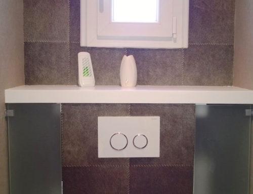 Tapisserie toilettes