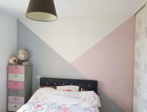 Peinture couleur pastel chambre FB Decostyl Sèvremont
