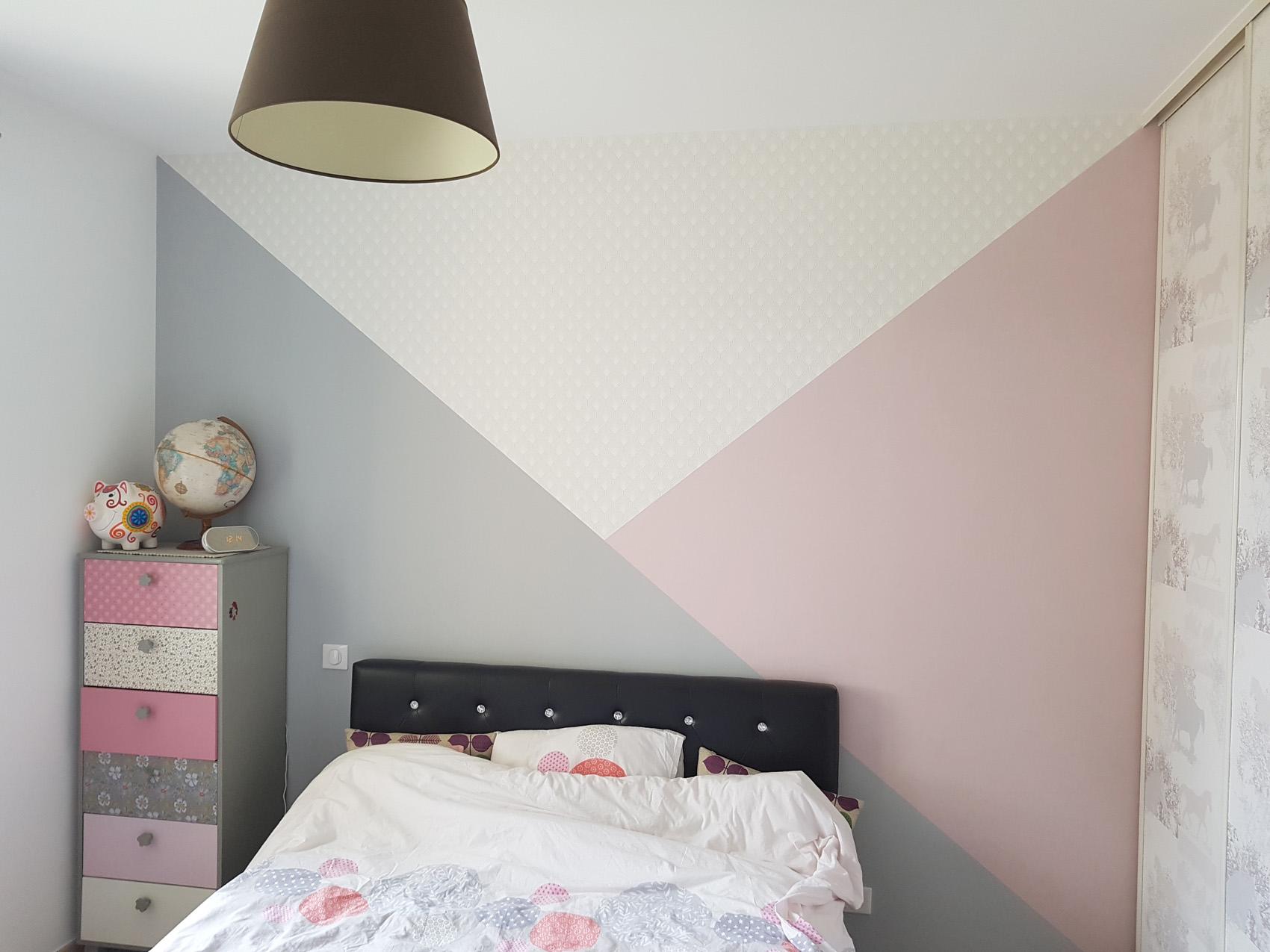 peinture pastel chambre FB Decostyl Sèvremont