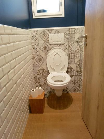 peinture toilettes FB Decostyl Sèvremont