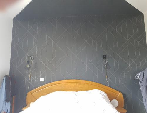 Tapisserie mur chambre FB Decostyl Sevremont