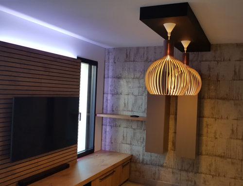 Décoration intérieure salon séjour