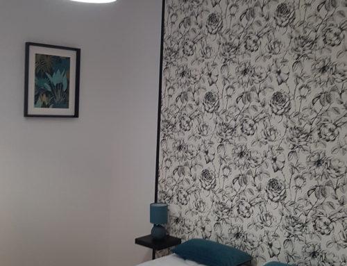 Chambre – Papier peint – Sevremont
