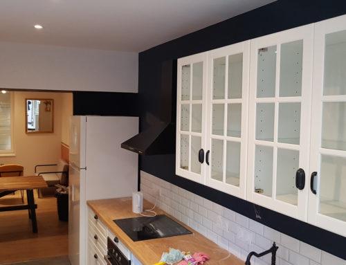 Peinture cuisine géométrique – Sevremont